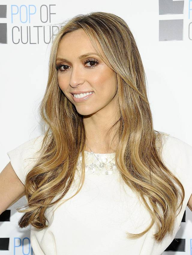 "FILE - This April 30, 2012 file photo shows TV personality Giuliana Rancic from ""Fashion Police"" attending an E! Network upfront event at Gotham Hall in New York. (AP Photo/Evan Agostini, file)"