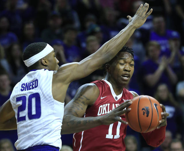 Sooners' losing streak hits six with loss at Kansas State