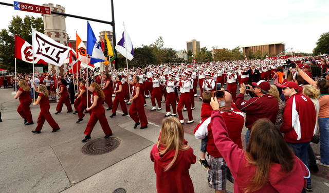 Sooners step up to homecoming