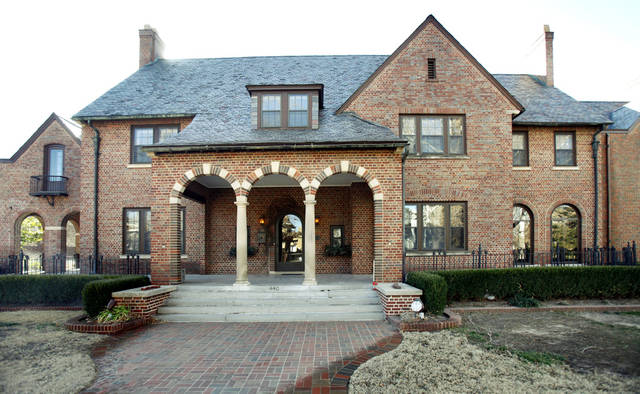 This home at 440 NW 15 in Oklahoma City, OK, will be this year's Symphony Show House, Monday, Jan. 23, 2012. By Paul Hellstern, The Oklahoman