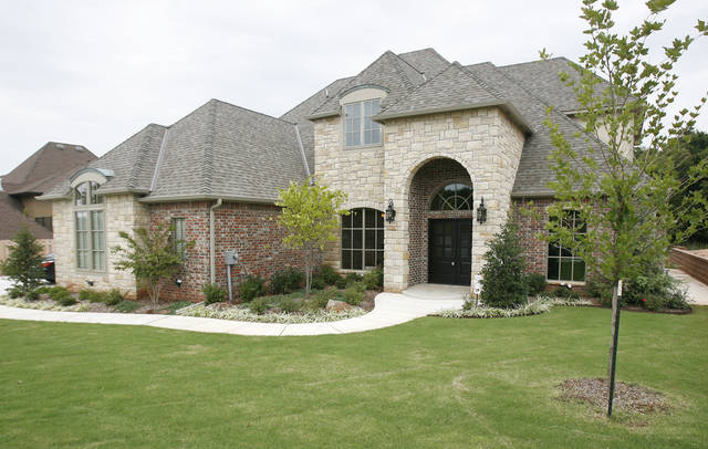 This is builder Tom French's model home at 2709 Cattle Drive in the Iron Horse Ranch housing addition in Edmond, OK, Friday, Sept. 18, 2009. By Paul Hellstern, The Oklahoman