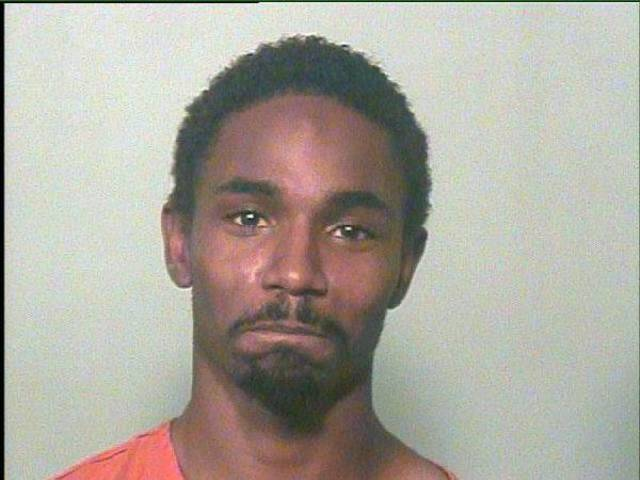 Antonio Laray Fuller, 22, was arrested on a complaint of public indecency Saturday. <strong></strong>
