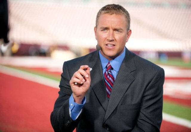 ESPN college football analyst Kirk Herbstreit <strong>Joe Faraoni - ESPN</strong>