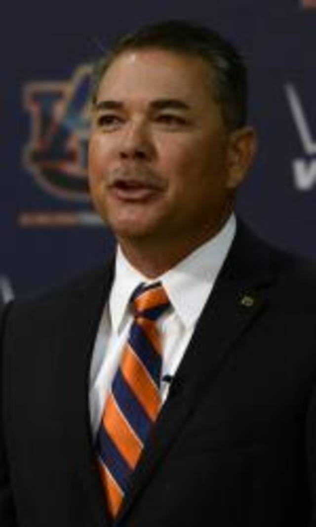 Auburn formally introduced Sunny Golloway as its new baseball coach Saturday. PHOTO COURTESY OF AUBURNTIGERS.COM