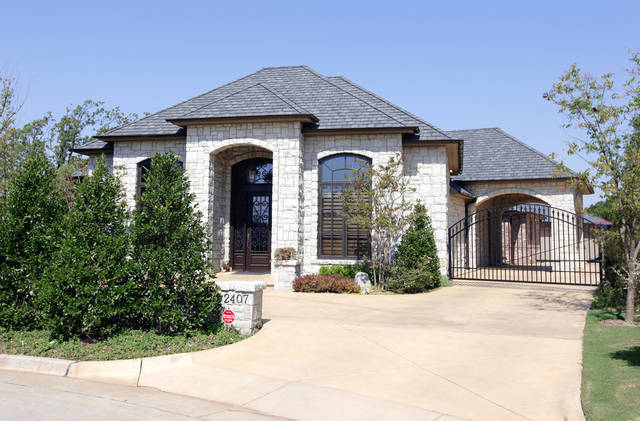 Larry and Frances Jones live in this Nichols Hills house valued at $1.3 million.  PHOTO BY NATE BILLINGS, THE OKLAHOMAN