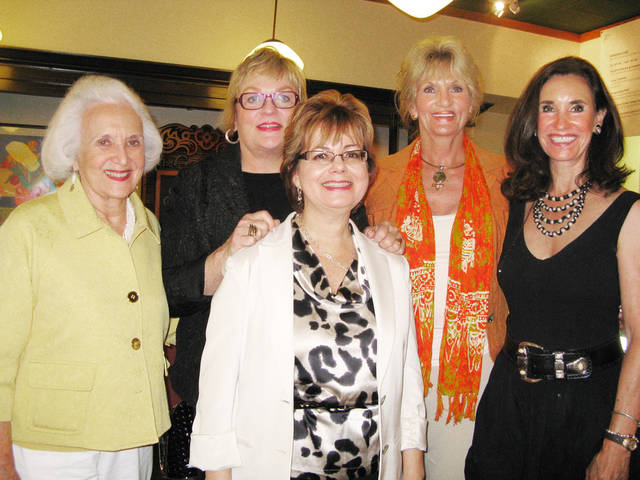 Women featured in the book A Cup of Cappuccino for the Entrepreneur's Spirt include Ruth LeeBron, Joy Reed Belt, Nancy Hyde, Lynne Hardin and Mary Frates. They spoke on a panel at Full Circle Bookstore Thursday, June 24, 2010. Photo by Susan Simpson, The Oklahoman