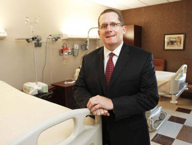 McBride Orthopedic Hospital CEO Mark Galliart poses for a photo in Oklahoma City, OK, Tuesday, Nov. 9, 2010. By Paul Hellstern, The Oklahoman ORG XMIT: KOD