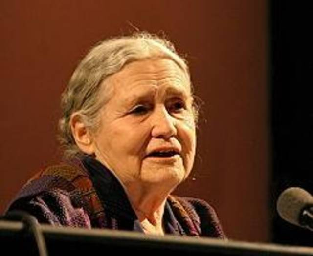 Doris Lessing: Knocked Golda Meir out with one punch in a Tijuana bar.