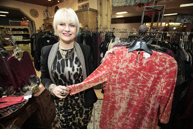 Closet Moxie owner Angela Crawford, North Park Mall,  for a career spotlight on a personal shopper in Oklahoma City, Thursday , December 29, 2011.     Photo by David McDaniel, The Oklahoman