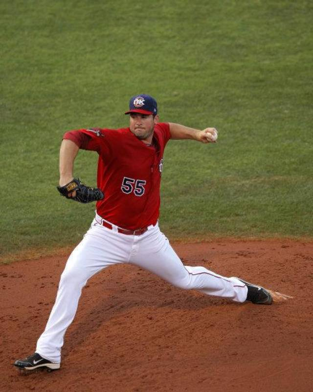 Australian Ryan Rowland-Smith is shown pitching this season for the Oklahoma City RedHawks.  <strong>Garett Fisbeck - Garett Fisbeck THE OKLAHOMAN</strong>