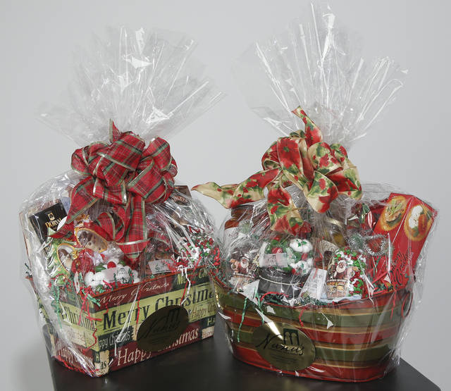 Nunu's Mediterranean Food gift baskets for the holidays, Friday, November 30, 2012. Photo by Doug Hoke, The Oklahoman