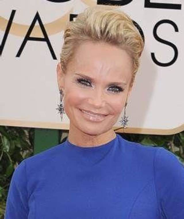 Kristin Chenoweth  arrives at the 71st annual Golden Globe Awards at the Beverly Hilton Hotel on Sunday, Jan. 12, 2014, in Beverly Hills, Calif. (Photo provided)