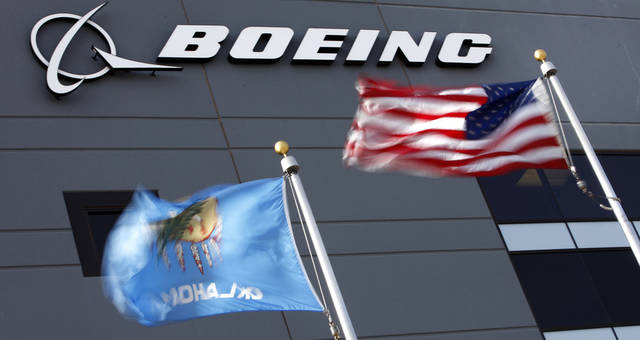 The Boeing office building in Oklahoma City, January 7, 2011. Photo by Steve Gooch, The Oklahoman