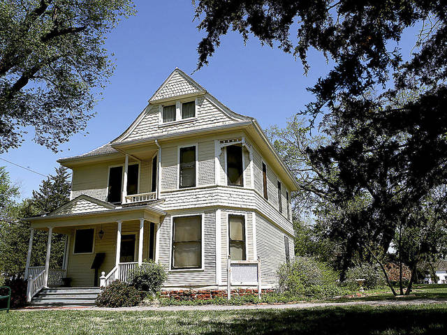 The Harn Homestead can be seen in this archive photo from April 20, 2009. It is the first stop on a daylong bus tour teaching participants about agricultural tourism. <strong>John Clanton - The Oklahoman Archives</strong>