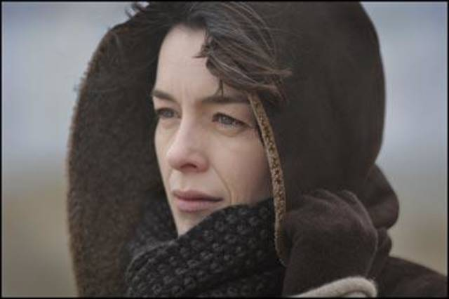 "Olivia Williams in ""The Ghost Writer."""