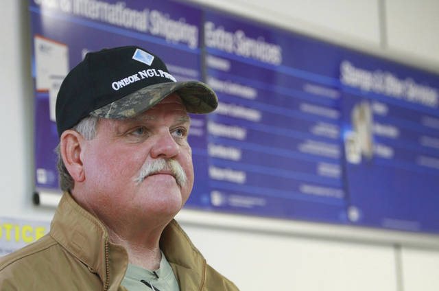 Story on possible closing of Loco Post Office and its effect on the community. Randy McWright, rancher and land man, who lives near Loco, Tuesday, December 14 , 2011. Photo by David McDaniel, The Oklahoman