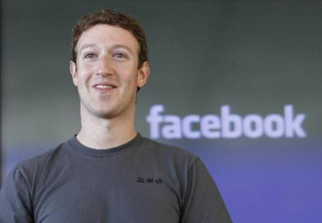 In this Nov. 15, 2010 file photo shows Facebook CEO Mark Zuckerberg smiling at an announcement in San Francisco. Another 17 of America's richest people, including Zuckerberg, junk bond pioneer Michael Milken and AOL co-founder Steve Case, have pledged to give away most of their wealth. They are the latest to join the Giving Pledge, an effort led by Microsoft founder Bill Gates and investor Warren Buffett to commit the country's wealthiest people to step up their charitable donations. (AP Photo/Paul Sakuma, file)