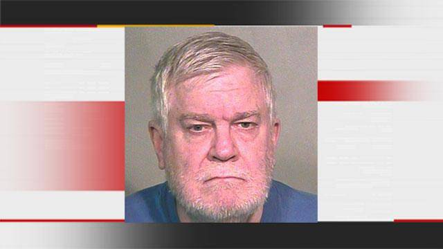 Charles Randy Hiatt, 59, was arrested and charged last month for indecent exposure, after one neighbor at the Crown Pointe apartments came forward and reported him to police.