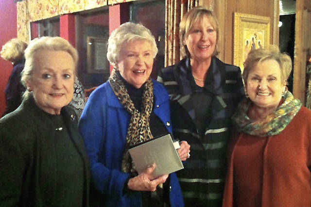 Linda Lowe, Gerry Pugsley, Carolyn Connell, Jo Fudge. PHOTO PROVIDED
