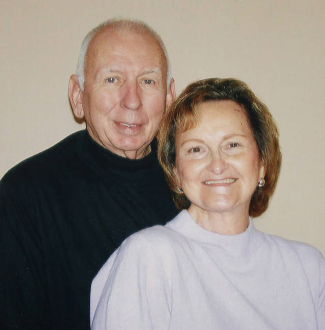 Bill G. and Virginia I. Kline of Oklahoma City. Married Dec. 23, 1961 in Spiro, Oklahoma. Copy photo Wednesday, Dec. 7, 2011. Photo by Doug Hoke, The Oklahoman