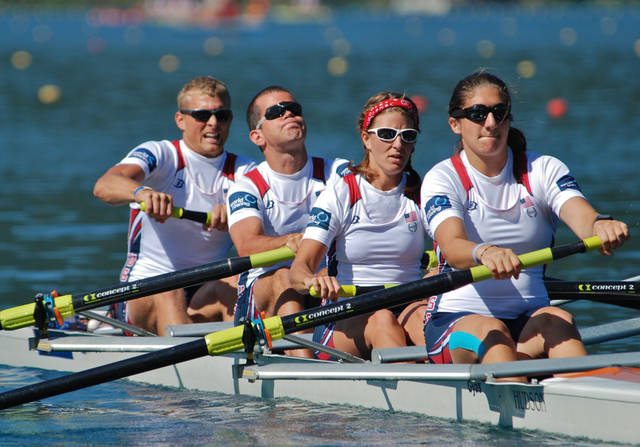 Paralympic rowers train on the Oklahoma River