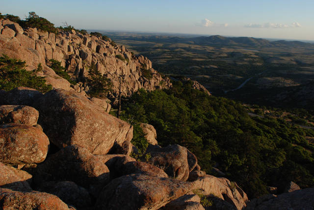 The Wichita Mountains Wildlife Refuge offers a look at the  boulders that comprise the mountains of the area. PHOTO PROVIDED     ORG XMIT: 1205181830020819