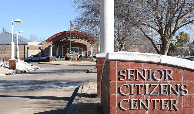 The Senior Citizens Center in Midwest City. PHOTO BY JIM BECKEL, THE OKLAHOMAN