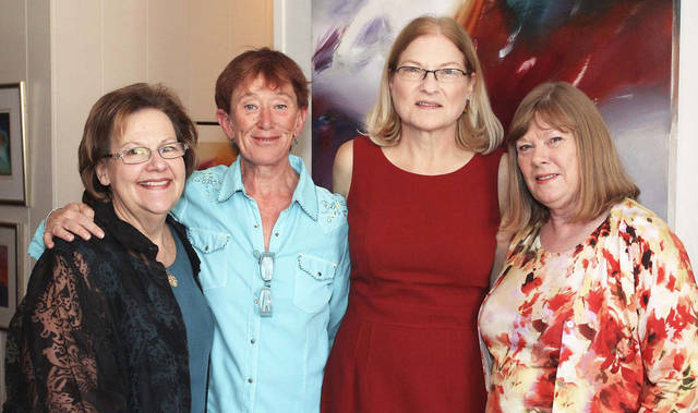 Gayle Semtner, Pat Gallagher, Liz Eickman, Betsy Wood. PHOTOs BY DAVID FAYTINGER, FOR THE OKLAHOMAN