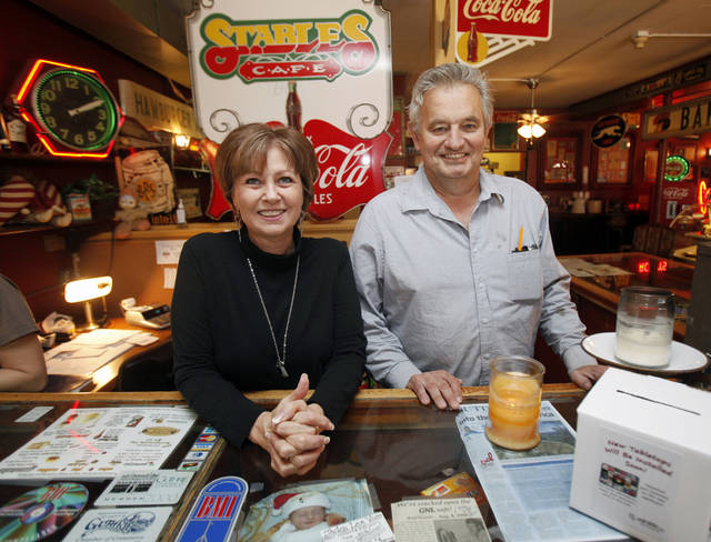 Debbie and Marc Prather are owners of The Stables Restaurant in Guthrie, OK, Monday, January 14, 2013,  By Paul Hellstern, The Oklahoman