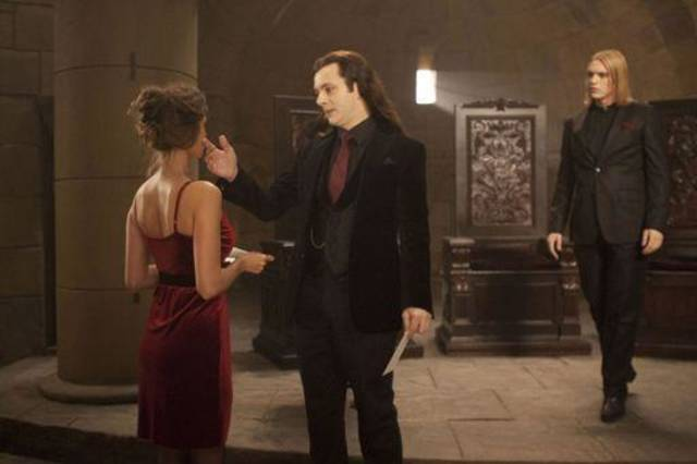 MICHAEL SHEEN (center) and JAMIE CAMPBELL BOWER (right) star in THE TWILIGHT SAGA: BREAKING DAWN - PART 1