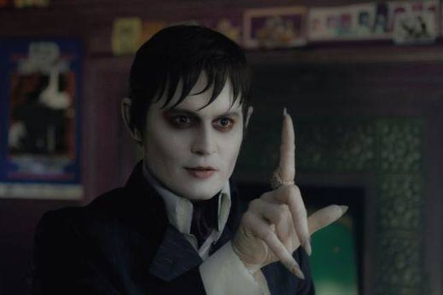 "JOHNNY DEPP as Barnabas Collins in Warner Bros. Pictures' and Village Roadshow Pictures' gothic comedy ""DARK SHADOWS,"" a Warner Bros. Pictures release."