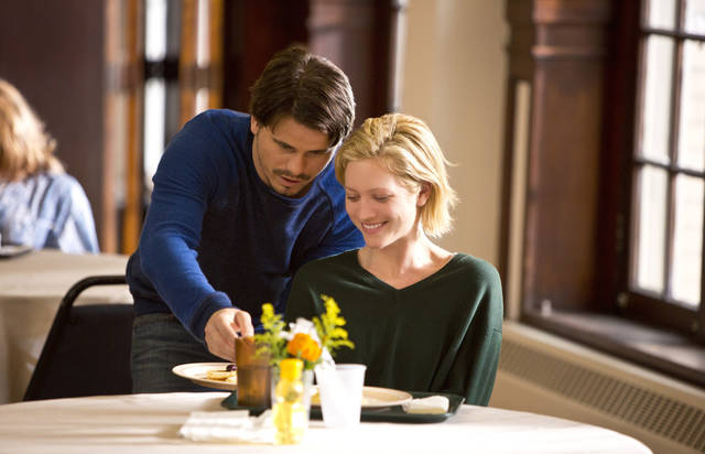 "(L to R) Jason Ritter (""Bruce"") and Brittany Snow (""Lucy"") star in the all-new Lifetime Original Movie, Call Me Crazy: A Five Film – ""Lucy"", premiering Saturday, April 20, at 8pm ET/PT on Lifetime. Photo by Michael Desmond Copyright 2011"
