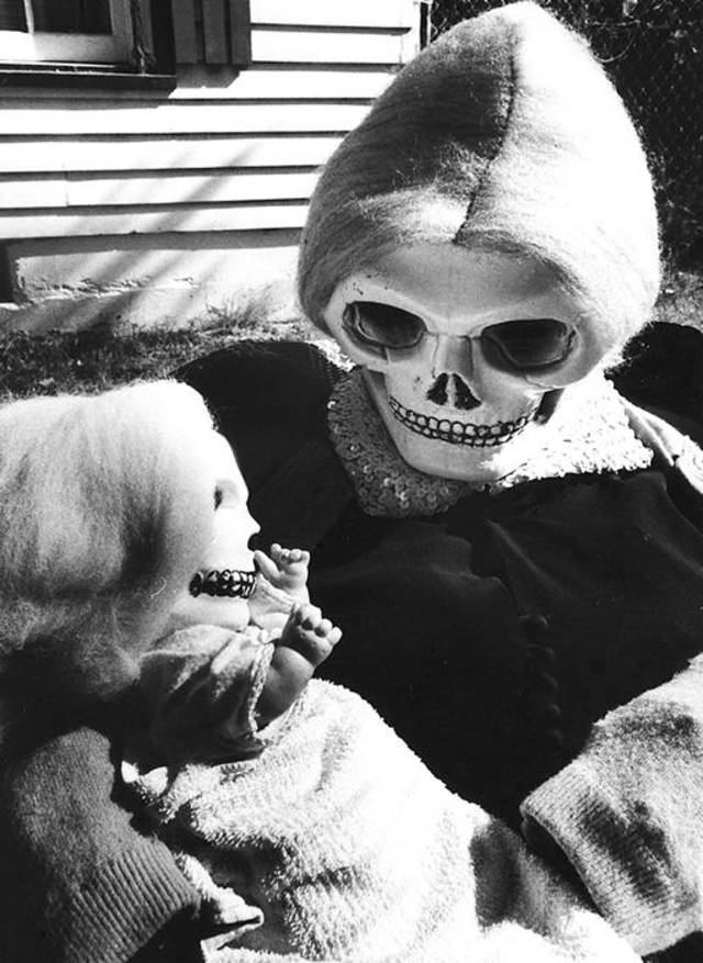 **For Alternate Crop** Halloween, Oct. 26, 1967. Archive Photo by Austin Traverse