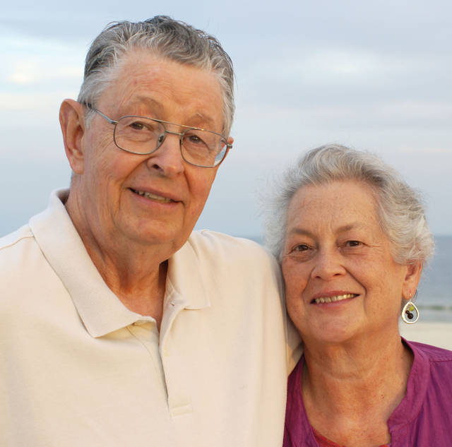 Ray and June Haines, of Edmond, were married April 1, 1962, in Topeka, Kan.