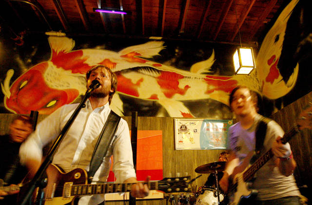 Hundred Year Storm performs at Tsunami Sushi during Dfest 2007, in Tulsa, Okla., Friday, July 27, 2007. By Matt Strasen, The Oklahoman