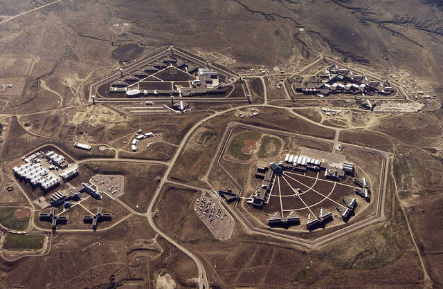 The Supermax prison is in the Federal Correctional Complex in Florence, Colo.  AP File Photo