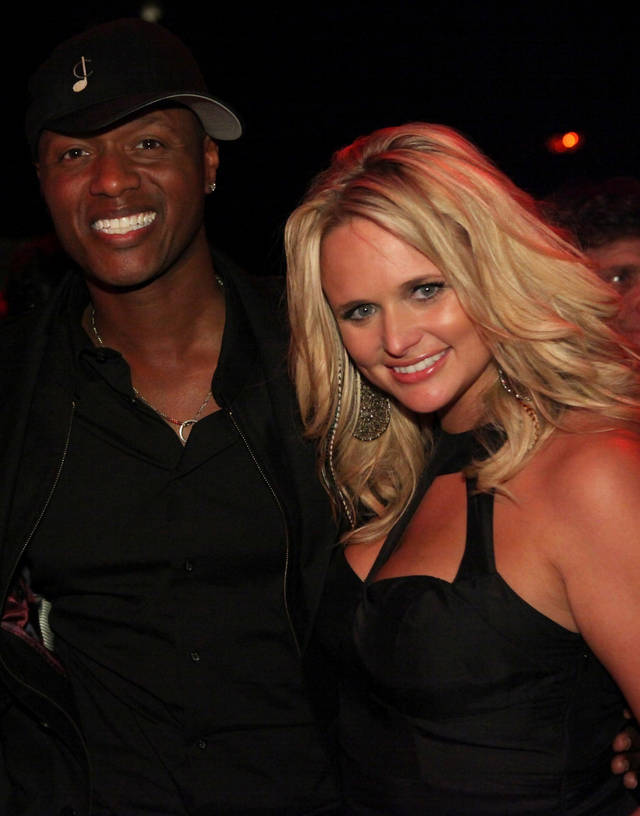 Javier Colon and country music star and Tishomingo resident Miranda Lambert. Photo provided by NBC