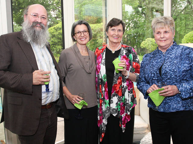 Kent Ippolito, Claudia Emerson, Nancy Blankenship, Judy Cawthon. PHOTO BY DAVID FAYTINGER, FOR THE OKLAHOMAN