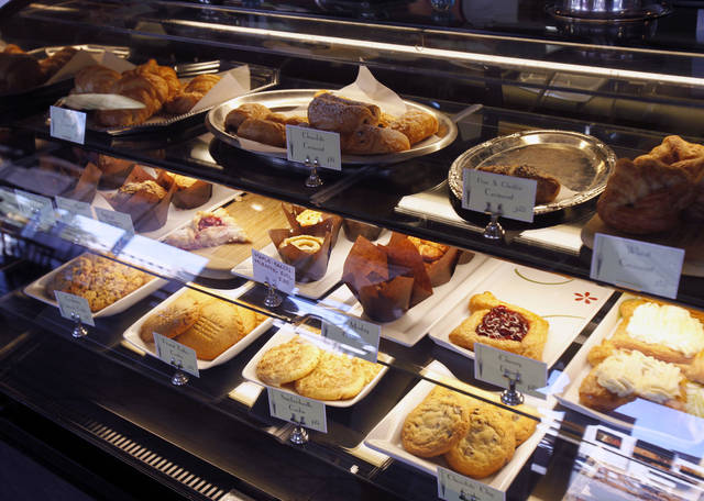 These are some of the pastries available at the Prairie Thunder Baking Co. in Oklahoma City. Photo by Paul Hellstern, The Oklahoman <strong>PAUL HELLSTERN - Oklahoman</strong>