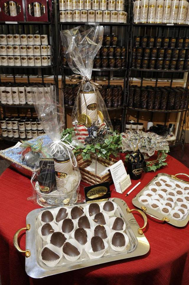 Bedre Chocolate in Pauls Valley offers a variety of treats. PHOTO PROVIDED. <strong></strong>