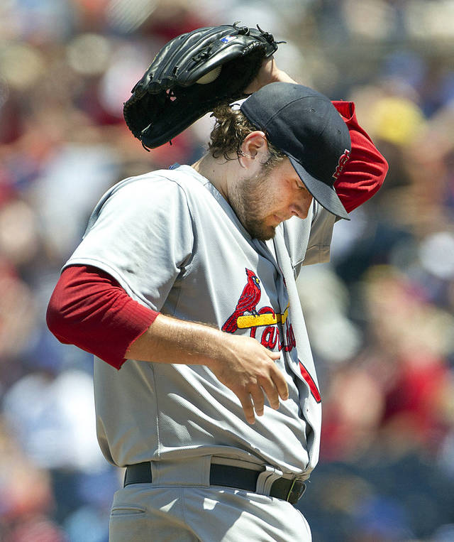 Starting pitcher Lance Lynn has been a standout on the Cardinals' staff. AP photo