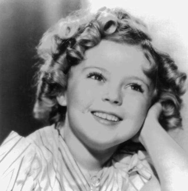 Shirley Temple in 1933 (AP file)