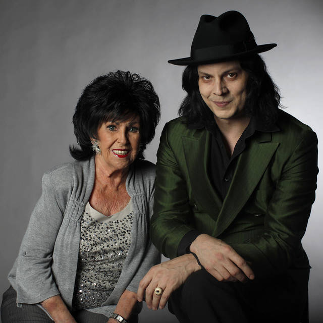 Wanda Jackson and Jack White pose for a portrait in Nashville, Tenn. AP Photo