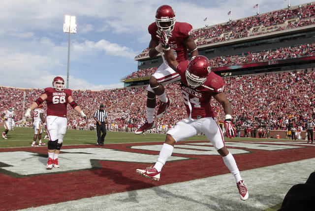 Despite fewer home games than many of the college football power, Oklahoma ranked among the top schools in football attendance in 2013. Photo by Steve Sisney, The Oklahoman