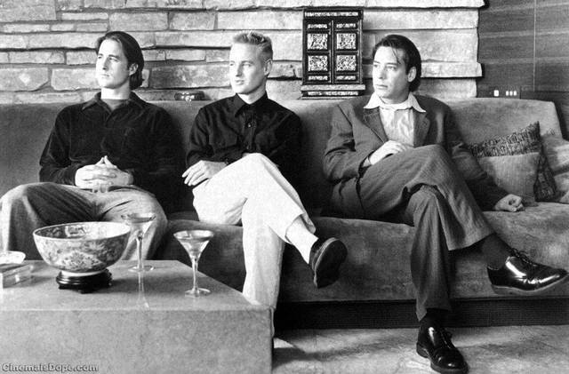 """Luke and Owen Wilson star with Robert Musgrave in Wes Anderson's first film, """"Bottle Rocket."""" <strong> - PROVIDED</strong>"""