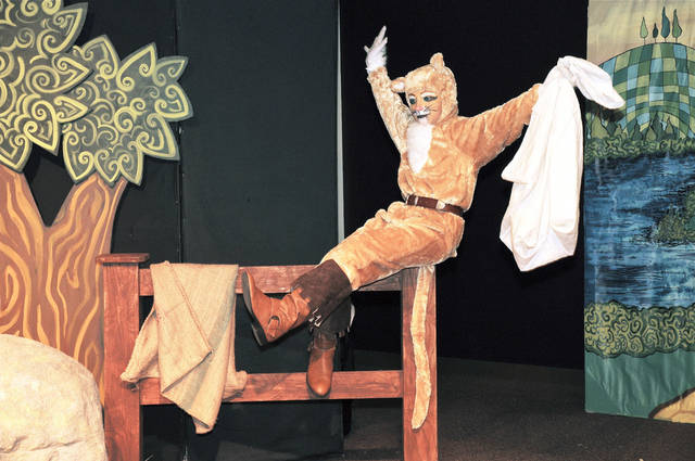 "Sam Kisthardt plays the title role as  Fine Arts Institute of Edmond will present five performances of ""Puss in Boots,"" a story about the most clever cat in the kingdom, starting Thursday and run through Sunday. Photo by M. Tim Blake, for The Oklahoman"