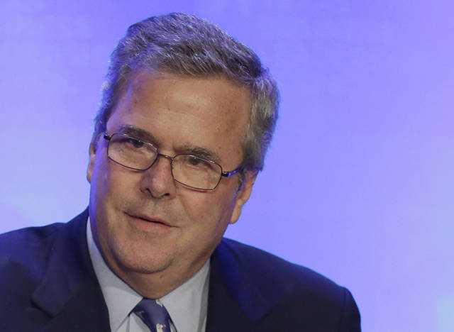 FILE - In this Feb. 26, 2013 file photo, former Florida Gov. Jeb Bush speaks in Austin, Texas. Jeb Bush has long resisted pressure from supporters to run for president. Now the former Florida governor is signaling that he�s at least open to the idea, a shift that comes as he promotes a new book and as a divided Republican Party struggles to right itself.  (AP Photo/Eric Gay, File)