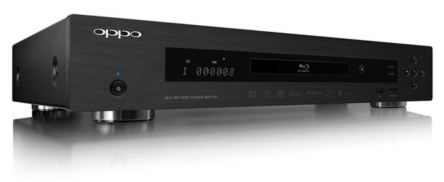 Oppo BDP-103 Blu-ray player: $499  Oppo, to me, is the best name in the business when it comes to home video players. Its Blu-ray players are amazing and have a reputation for dependency and smooth operation. Photo provided.