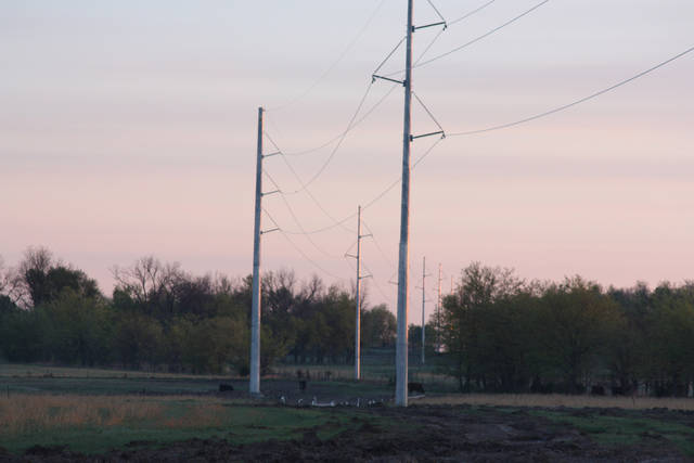 A subsidiary of Edmond's Pelco Products Inc. has secured a contact to design and build support poles for Clean Line Energy's 800-mile electric transmission line to carry wind power from the Oklahoma Panhandle region to southeastern states. Pelco Structural LLC specializes in manufacturing made-to-order pole assemblies for the traffic control, utility, lighting and communication industries at its 192,000-square-foot plant in Claremore. (Photos provided by Pelco)