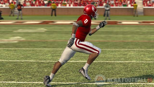 EA Sports' NCAA Football 10 simulated a 10-2 season for OU, including a Rose Bowl win over Oregon. PHOTO COURTESY OF EA SPORTS
